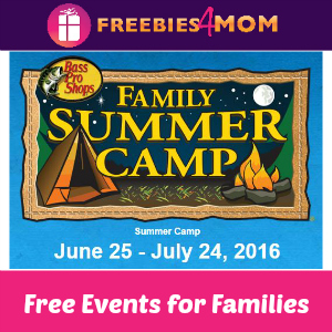 Free Family Summer Camp at Bass Pro Shops