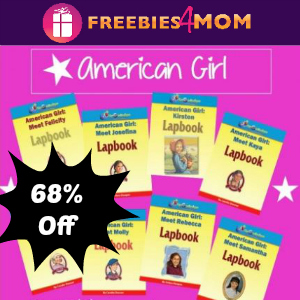 68% Off American Girl Lapbook Bundle