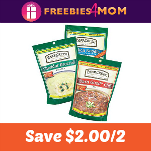 Coupon: $2.00 off 2 Bear Creek Soup Mixes