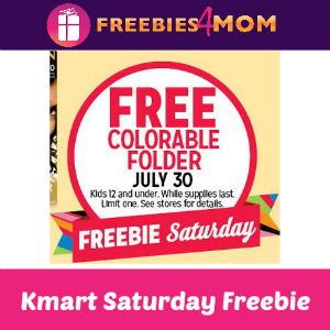 Free Colorable Folder at Kmart