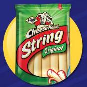 "Frigo Cheese Heads ""Great String Cheese Debate"""