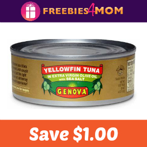 Coupon: $1.00 Off One Can Genova Tuna