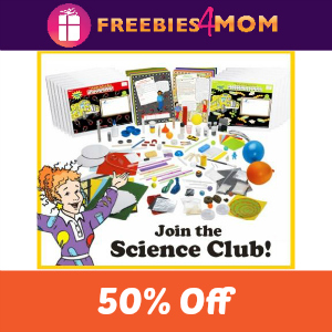 50% Off Magic School Bus Science Subscription