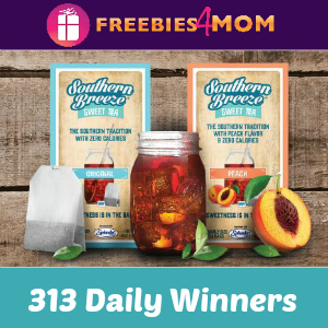 Sweeps Southern Breeze Sweet Tea Sample