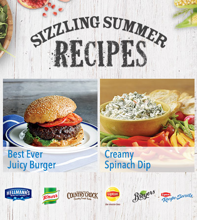 Sizzling Summer Recipes at Walmart