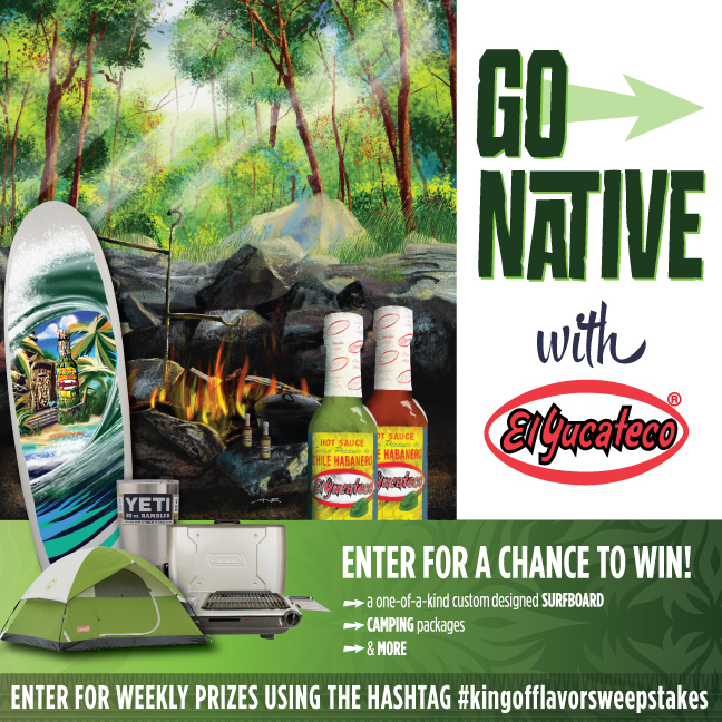 Go Native with El Yucateco Sweepstakes