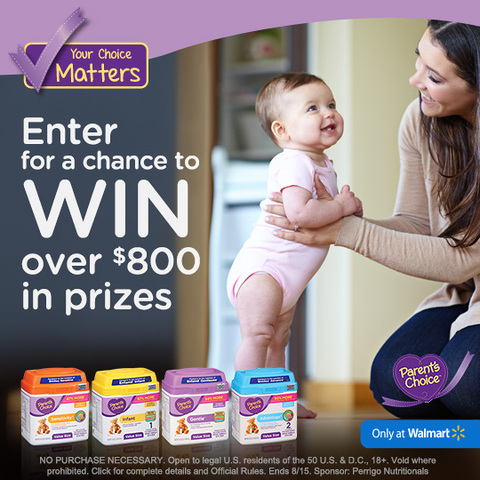 Win $100 from Parent's Choice Sweepstakes