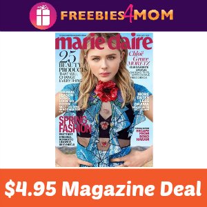Magazine Deal: Marie Claire $4.95