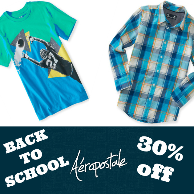 Aeropostale Boys Graphic Tees