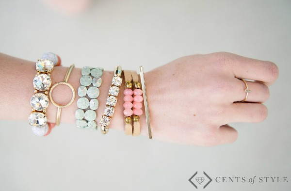 50% Off Stacking Bracelets (Starting at $4.98)