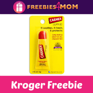 Free Carmex Lip Care at Kroger