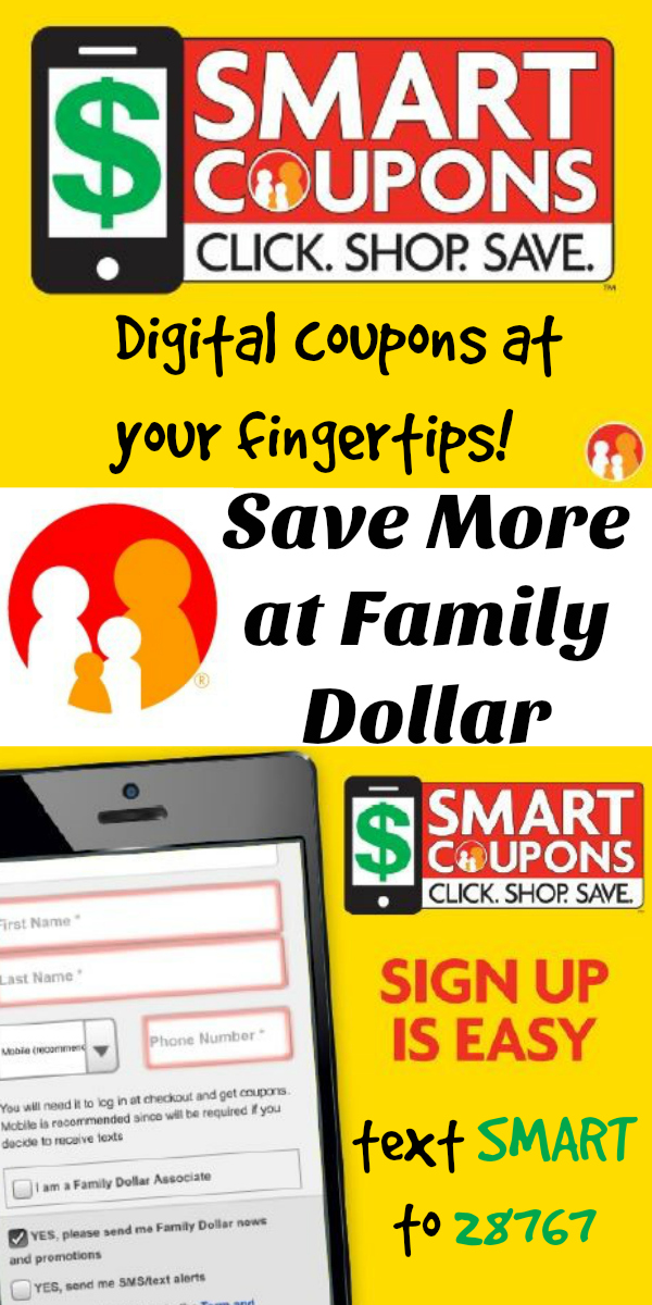 Smart coupons family dollar smart coupons