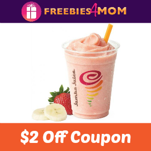 $2.00 off Jamba Juice Classic Smoothies