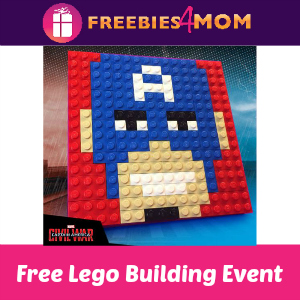 Free Lego Marvel Super Heroes Event