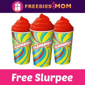 Free Medium Slurpee at 7-Eleven