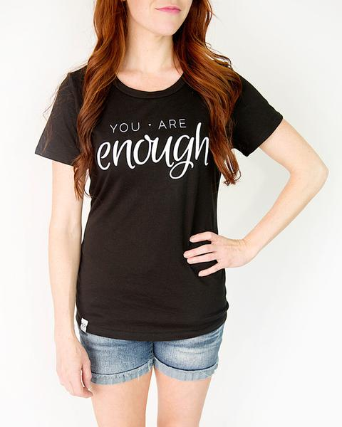 You Are Enough Tee $15.95