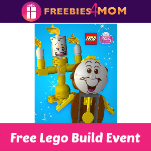 Free Lego Disney Princess Building Events