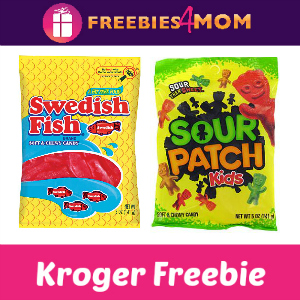 Free Sour Patch Kids or Swedish Fish at Kroger
