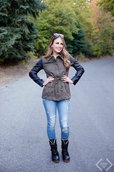 Harriet Military Jacket $21.95