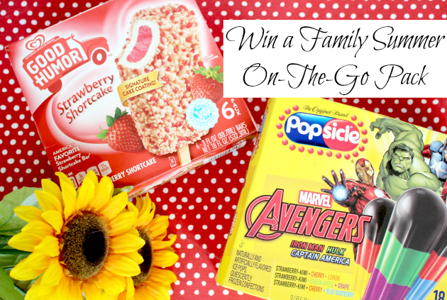 What's your ice cream personality? Win a Family Summer On-The-Go Pack plus get a Free Redbox Movie