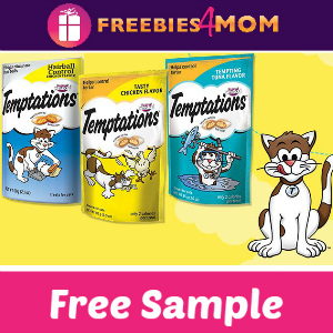 Free Sample Tempations Cat Treats