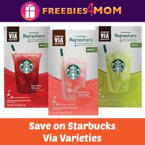 Coupons: Save on Starbucks Via