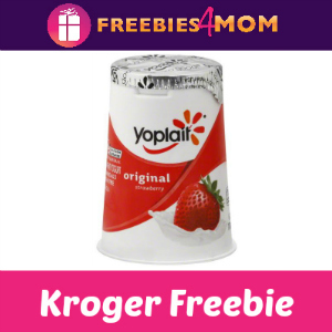 Free Yoplait Yogurt at Kroger
