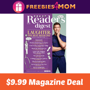 Magazine Deal: Reader's Digest $9.99