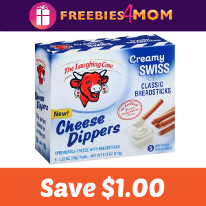 $1.00 off The Laughing Cow Cheese Dippers