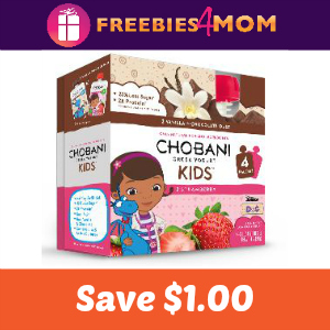 Coupon: $1.00 off any Chobani Kids