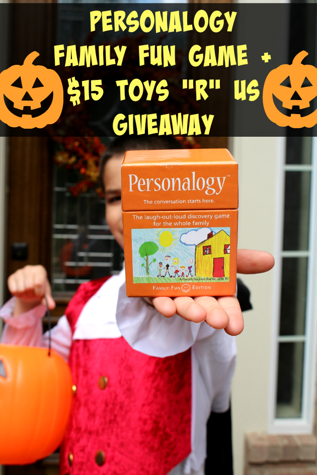 "Personalogy Family Edition + $15 Toys ""R"" Us Gift Card Giveaway"