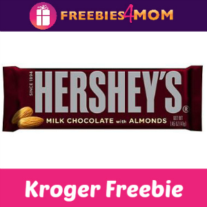 Free Hershey's with Almonds at Kroger