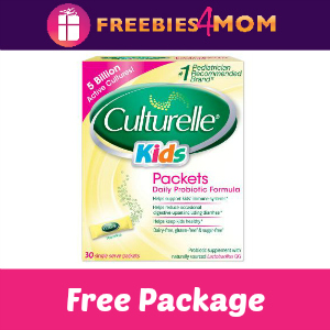 Free Culturelle Kids Daily Probiotic