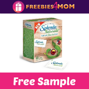 Free Sample Splenda Naturals Stevia Sweetner