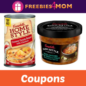 Save on Campbell's Homestyle & Slow Kettle Soup