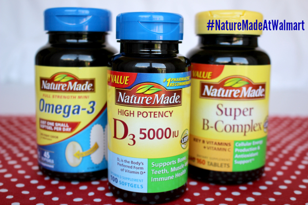 Invest in your Wellness with Nature Made® Vitamins at Walmart plus $50 Walmart Gift Card Sweepstakes