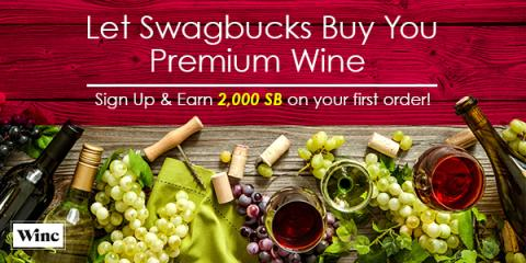 Get $40 for signin-up for Winc wine delivery service