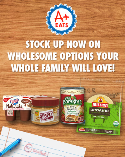 Stock up now at Dillons on wholesome options your whole family will love
