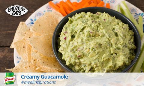 Knorr Creamy Guacamole Appetizer Recipe