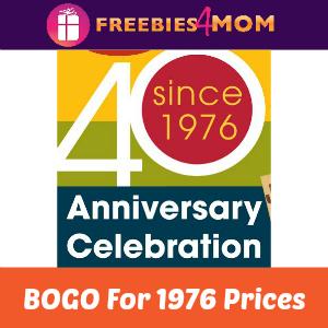 BOGO For 1976 Prices at Jason's Deli