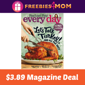 Magazine Deal: Rachael Ray Every Day $3.89