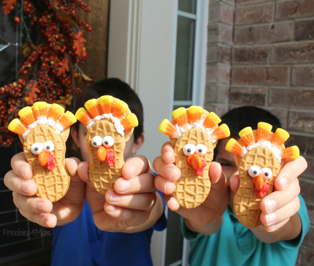 Turkey Cookies from Family Dollar