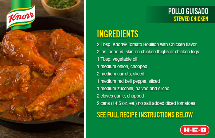 Knorr Stewed Chicken Recipe