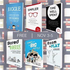 6 Free eBooks from Mike & Jen Burns
