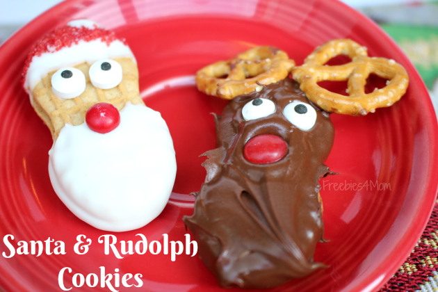 Santa & Rudolph Cookies from Nutter Butters from Family Dollar