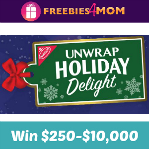 Sweeps Nabisco Unwrap Holiday Delight