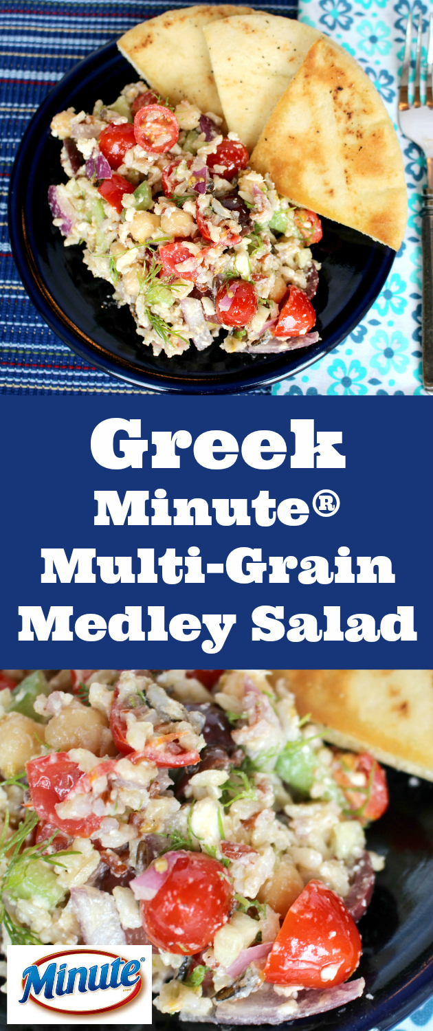 Greek Minute® Multi-Grain Medley Salad Recipe