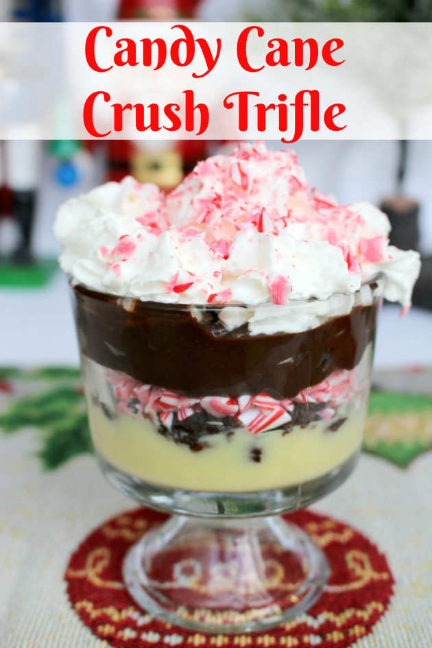 Candy Cane Crush Trifle from Family Dollar