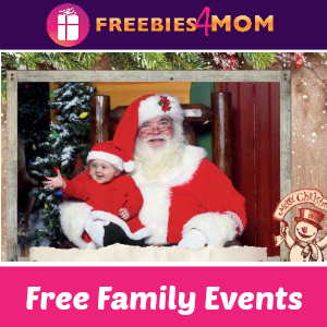 Free Santa's Wonderland Events at Bass Pro