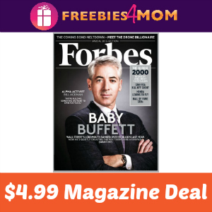 Magazine Deal: Forbes $4.99